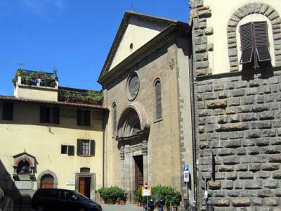 San Felice Church by Michelozzo