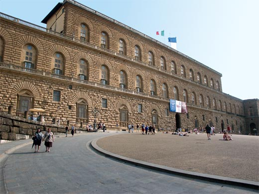 The Pitti Palace