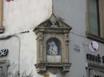 Tabernacle of Via Sant'Antonino